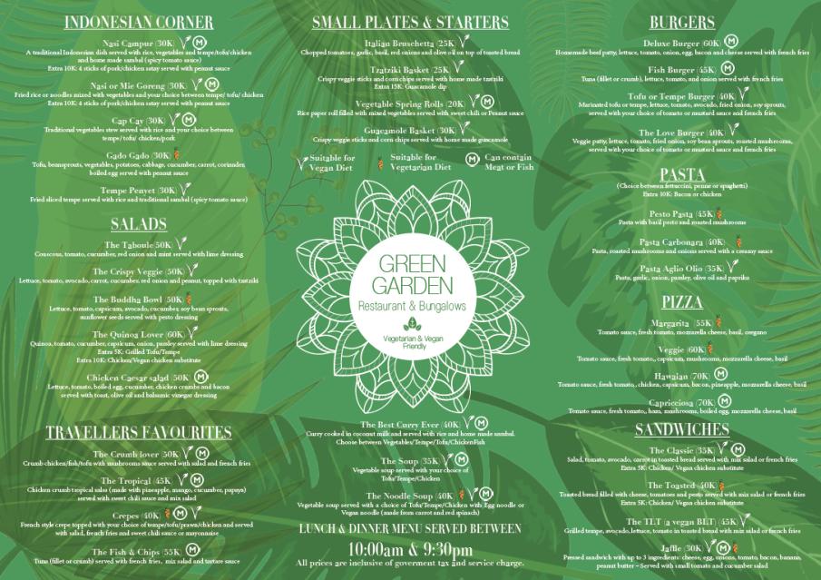 Green Garden Restaurant | Yoga Bliss